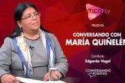 [MCA TV] María Quiñelén- Conversando en Positivo